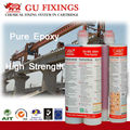 Strong fix epoxy resin hybrid adhesive for heavy duty wall anchors
