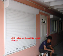 2017 high quality electric european style german window shutters