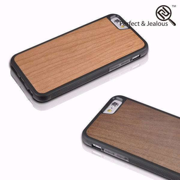 mobile phone accessories factory in china Real wood high quality hippocampus snap case for iphone 6