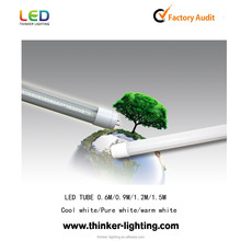 CE RoHS approved high performance 18w 120lm/w led linear lights flat led tube