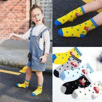 summer best branded name socks cartoon kids socks