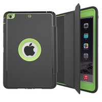 Three Foldings Tablet Leather Cover Case for iPad Mini