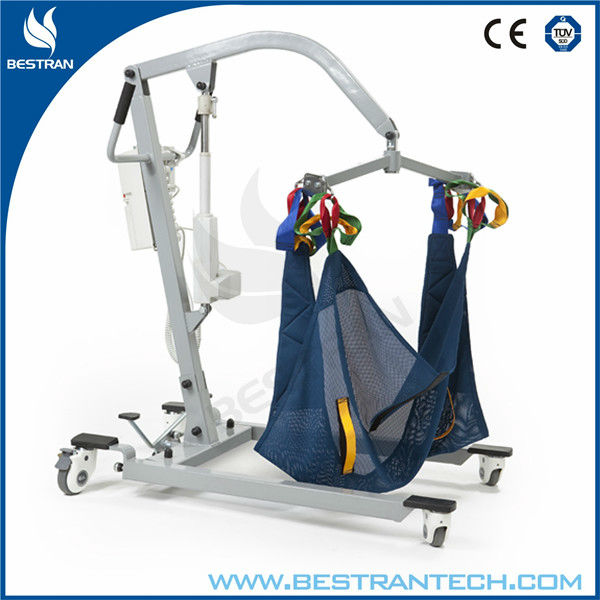 BT-PL001 Four castor electric personal lifter medical wheelchair patient hoist