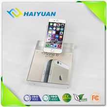 Specification label acrylic display stand for mobile phone