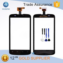 Cellphone Part Black Digitizer for ZTE Blade III V889M Touch Screen Panel Glass Lens