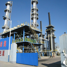 100 TPD Crude oil refinery atmospheric and vacuum distillation unit