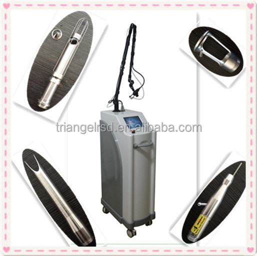 China brand CO2 Fractional laser Q5 burn/surgery/acne scar treatment fractional co2 laser machine for sale
