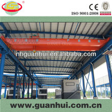 double bridge hoist overhead travelling crane