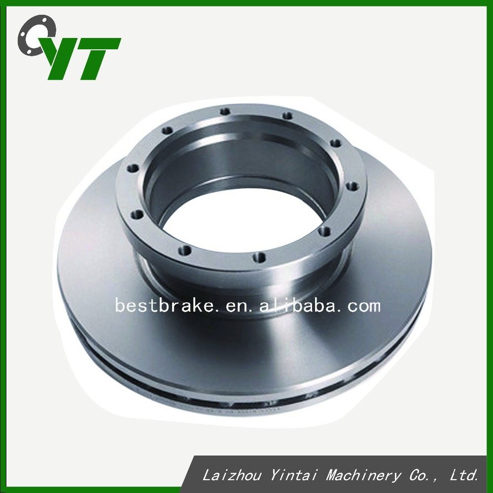 Truck casting brake Rotor auto parts for mercedes benz Actors 9424211212 Front Axle Rear Axle brake disc rotor
