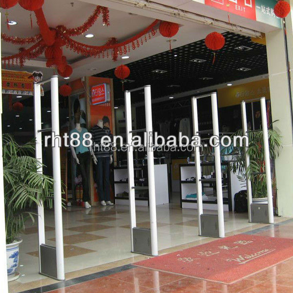 Large Demand EAS System Security Retail Store Anti-theft Gates,8.2Mhz RF Store Anti-theft Gates Door