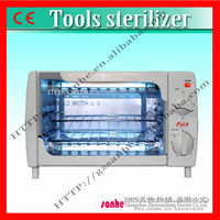 Salon use stainless steel UV sanitizer sterilizer box