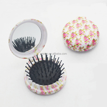 Fashionable new design round folding hair brush