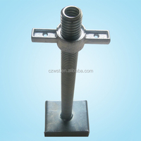 Hollow ajustable u head for construction