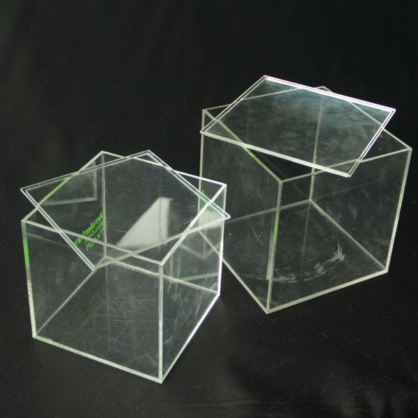 transparent acrylic display box plexiglass cube box with. Black Bedroom Furniture Sets. Home Design Ideas