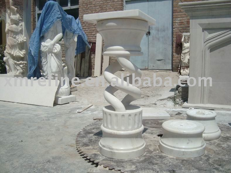 marble column cover