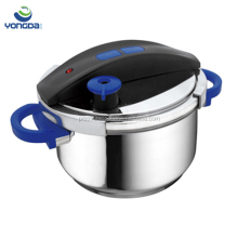 Stainless steel industrial pressure cooker