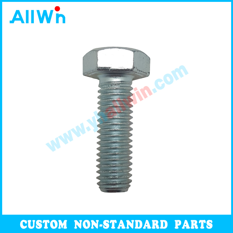 Carbon Steel Customized Standard Hex Bolt DIN931 DIN933