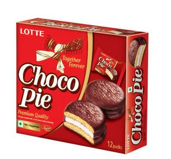 Delicious Choco Pie Lotte Chocolate cake