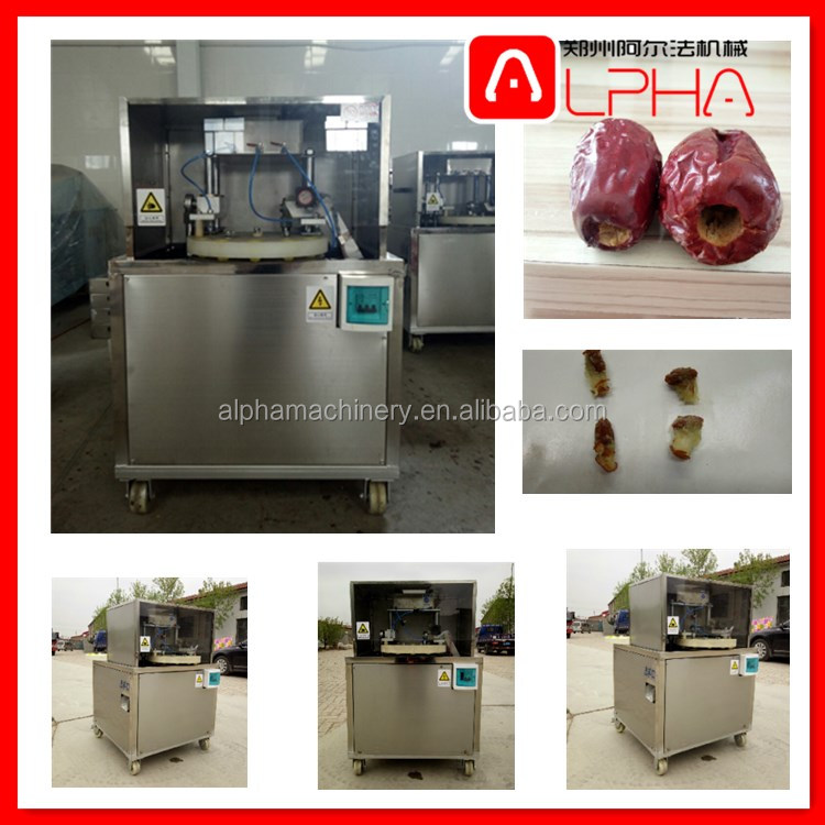 Iraq Dates date seeds removing machine/date seeds pitting machine