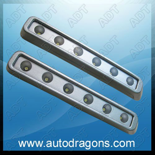 Top Quality Waterproof 12 LED Daytime Running Light,DRL