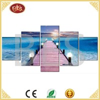 residential interior house famous contemporary beach oil painting