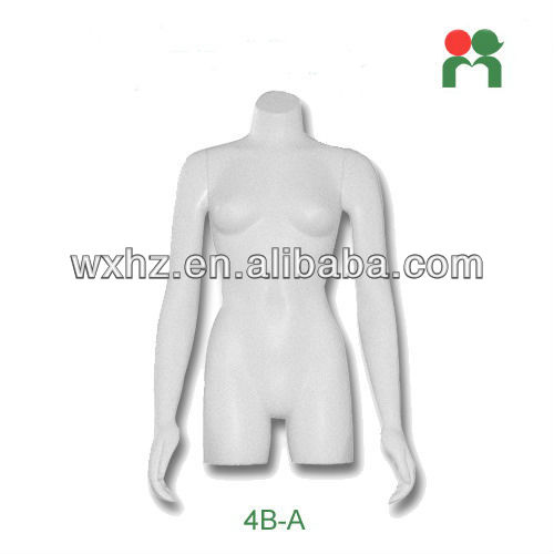 2013 Fashion fiberglass new female mannequin half-body mannequin doll female sex torso 4B-A