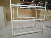 2016 new product 3 tier bunk bed tribed new product steel bunk beds