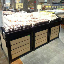 Factory price supermarket fruit display stand rack