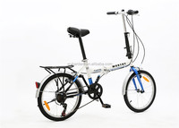 20 inch ladies bicycle urban bike with basket
