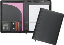 A4 Conference Folder Organiser with Calculator Document Portfolio