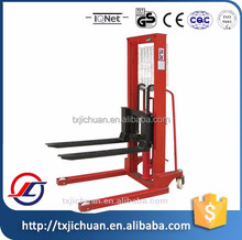manual hand Forklift stacker hot sale cheap price China