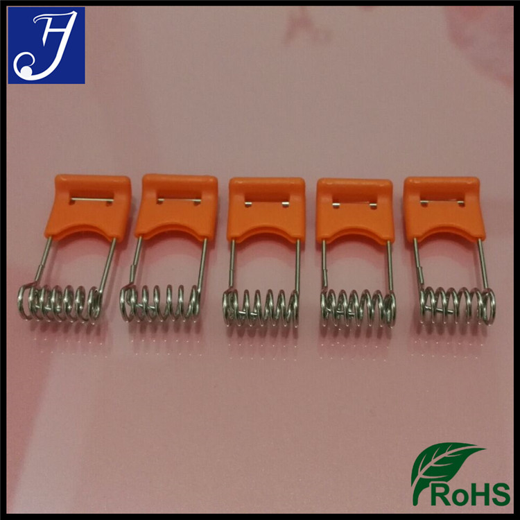 Manufacturer Orange Color Coated Steel LED Lighting Torsion Spring