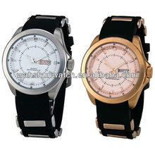 New model unique alloy material glamour western wrist watches for man