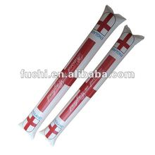 Inflatable Cheering Stick with England Flag Design for 2012 London Olympic