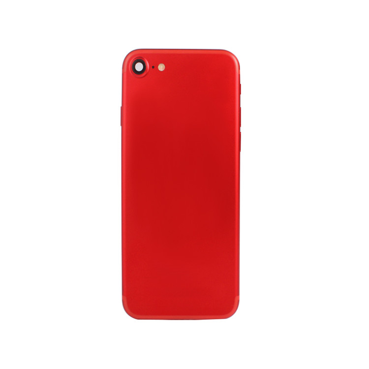 Red Genuine For iPhone 7 REAR BACK CHASSIS HOUSING WITH PARTS - GRADE AAA