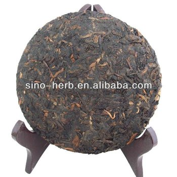 Free Sample Organic Puer Tea Compressed Dark Pu-erh Tea