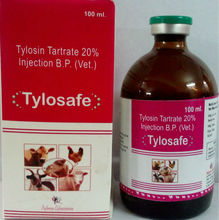 Tylosin Tartrate 20% Injection (Tylosafe Injection)