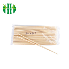 Wholesale Natural Safe And Hygienic Grill Bamboo Skewer Sticks