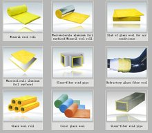 Glasswool heat and ascoutic insulation