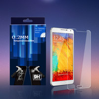 anti shatter tempered glass screen guard for samsung Note 4 explosion proof screen protector