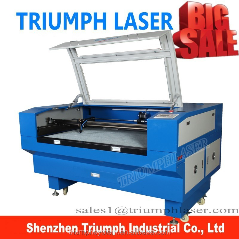 MDF 100 watts laser cutter used TR-1390 Stone/marble/glass engraving machine