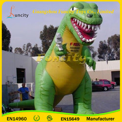 2016 HOT Sale Giant Inflatable Animals, T-rex Inflatable Advertising for Sale