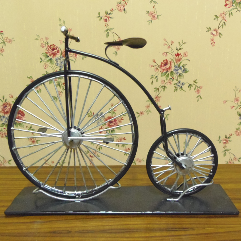 Vintage looking antique home decorative handmade bicycle