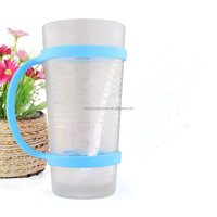 Silicone Bottle Band,Soft Water Bottle Carrier/Handle cup Strap