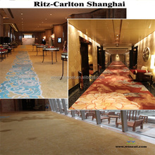 floral pattern wall to wall carpet ,hand made new zealand wool carpet