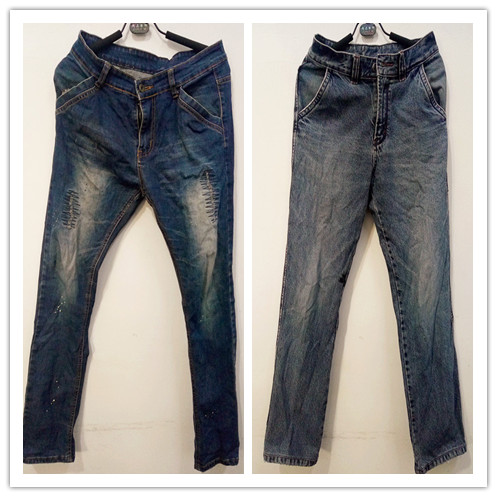 Second hand jean trousers factory guangzhou used clothes italy
