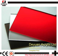 Buy Deyuan decorative acrylic mirror sheet plastic