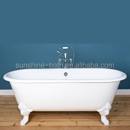 ... Bathtub,Soaking Clawfoot Cast Iron Bathtub,Two Person Hot Tub Product