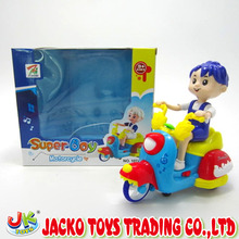 Funny Carton Battery Operated Motorcycle Toys For Kids