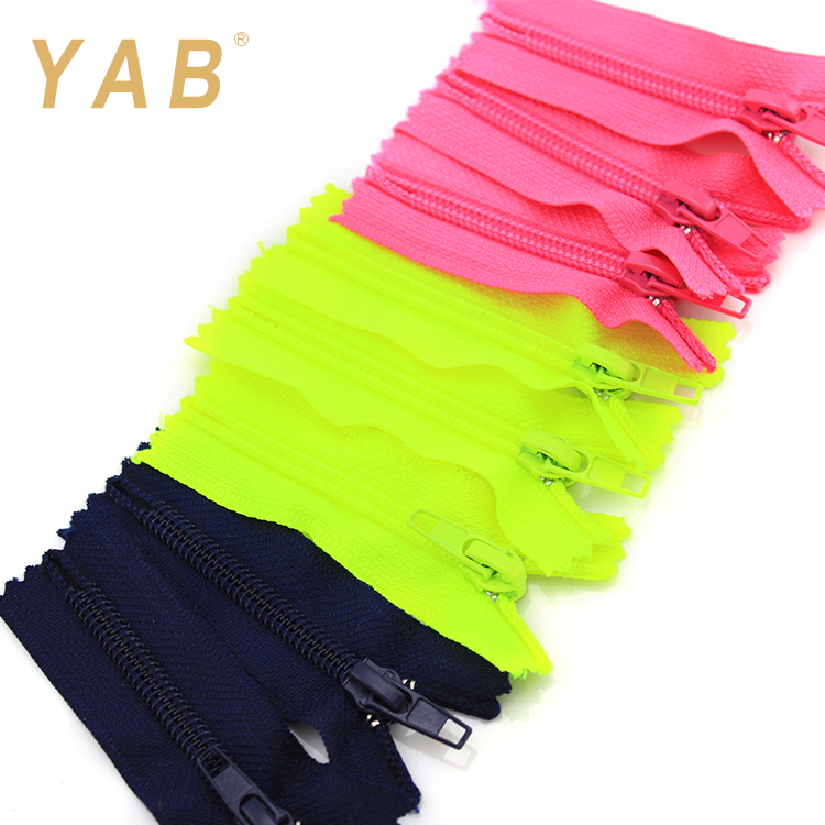 YAB March Expo 5# Invisible Separating Long Rolls Jeans Teeth Nylon Tape Zip Zipper